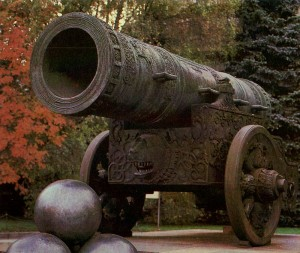 Tsar Cannon. The Master Andrew Chokhov. 1586
