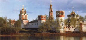 Virgin of Smolensk, Novodevichy Convent in Moscow