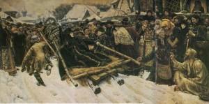 Artist V.Surikov. 1887
