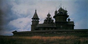 Kizhi churchyard