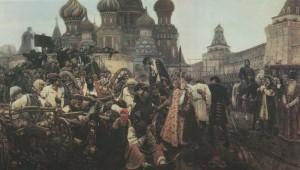 Artist V.Surikov. 1881