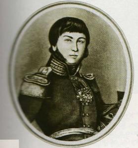 An engraving of the original O. Kiprensky.