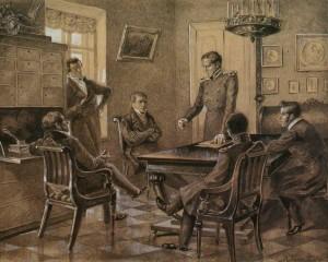 Artist K.Golstein. 1936.