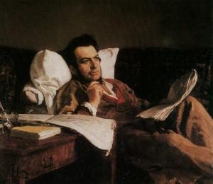 Artist I.Repin. 1887.