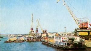 In port.
