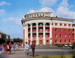 Petrozavodsk. Severnaya hotel.