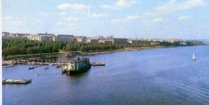 Onezhskaya Embankment. Petrozavodsk.