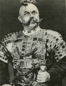 "People's artist of the USSR, as Farlaf in M. Glinka's opera ""Ruslan and Liudmila"""