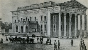 The first building in Odessa.