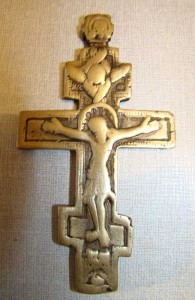 Neck cross. 18th century.