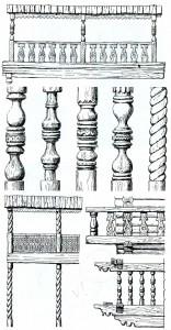 of balconies