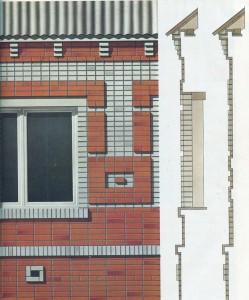 figured brickwork