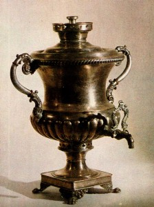 SAMOVAR. Thirties to forties of the 19th cent.