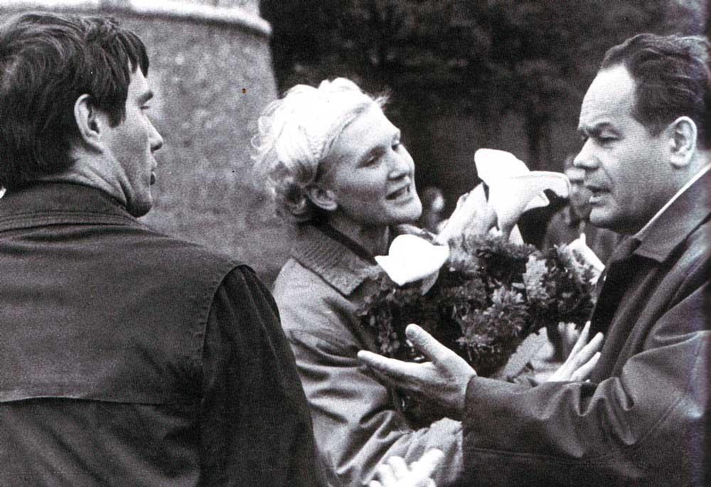 Pavel Leonenko, Olga Koptjuch,Vasilij Bustrow