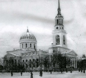 Cathedral of St. Andrew. Kronstadt