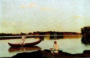 GV Soroka (1823 - 1864). Fishermen. 1840s.