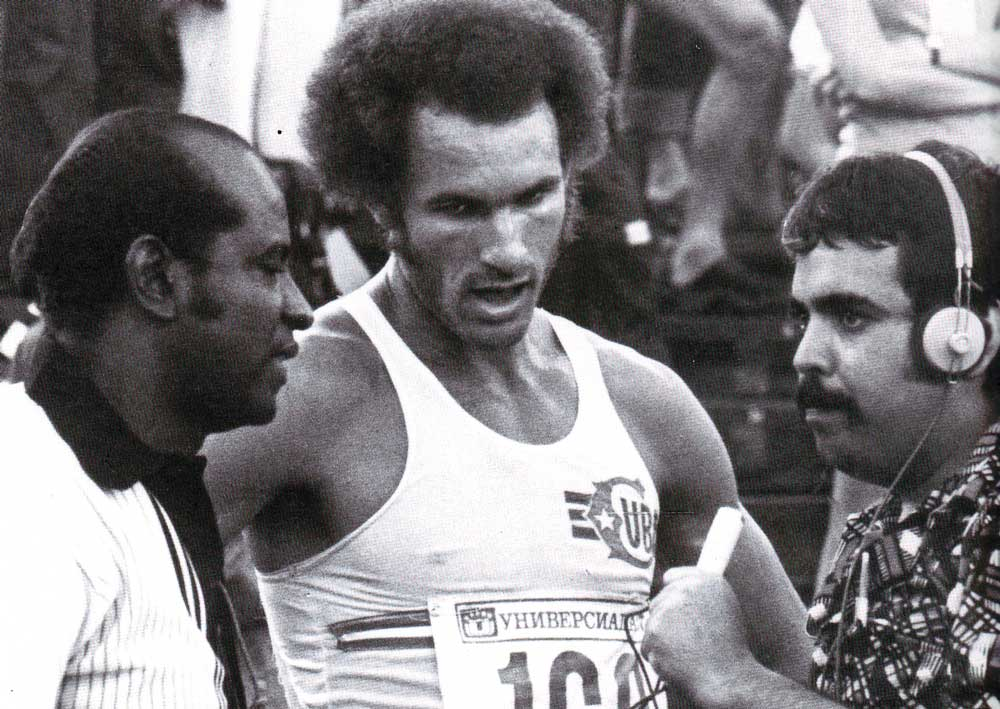 Alberto Juantorena, winner of two Olympic Games.
