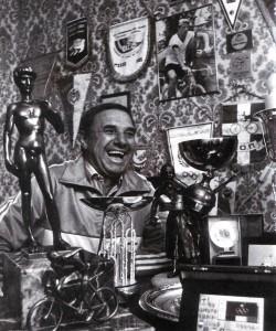 Fyodor Tarakanov amidst his trophies