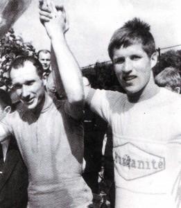 Der unvergessliche Alexander Kulibin und Jurij Gunjaschow. Das Rennen Paris - Rouen - Paris 1964