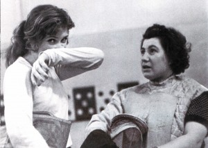 Trainer - Olympiasiegerin Ljudmila Schischova