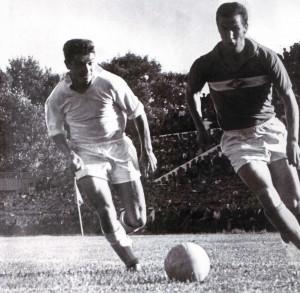 """Das Spiel """"Wolga"""" Gorki - """"Spartak"""" Moskau. (Oberliga 1963)"""