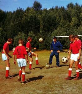 """Junge Fussballspieler des FC """"Lokomotive"""""""