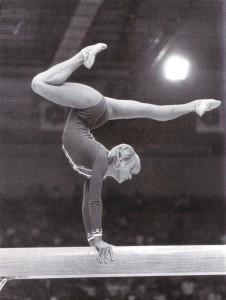 Korbut bei der Welt-Universiade - 1973