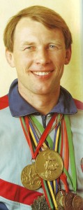 Yevgeny Essin, honoured Master of Sports, multiple World champions