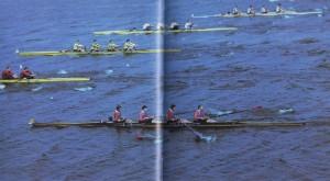 Landesmeisterschaft auf dem Ruderkanal in Nischni Nowgorod
