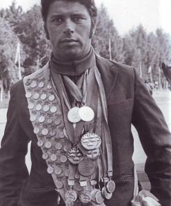 Wjatscheslaw Scharabanow, siebzehnfacher Weltrekordhalter im Fallschirmspringen