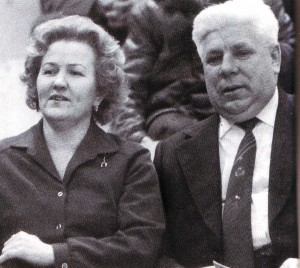 Lidija Skoblikowa und Nikolai Kulikow