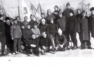 Veteranen des Schlittschuhlaufs von Nischni Nowgorod