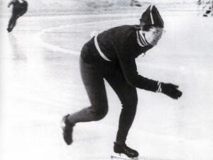 Natalija Dontschenko, Silbermedaillengewinnerin der Olympiade in Squaw Vally
