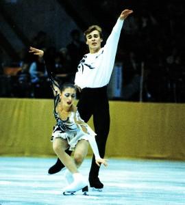 Maja Ussowa aus Nischni Nowgorod und Alexander Shulin aus Moskau