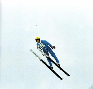 Pavel Kustow im Flug