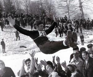Dankbarkeit der Landsleute. Bakuriani. Spartakiade der Volker der UdSSR 1974
