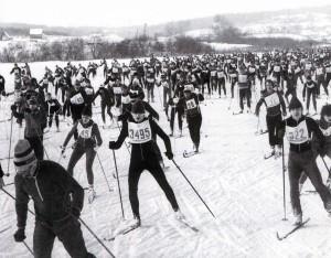 Massenstart der Sportier von Nischni Nowgorod