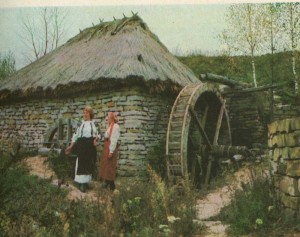 """Water Mill"" of Lomachintsy. Chernivtsi region. 19th century."