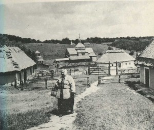 Compound estate in the village of Yaryshev. The end of the 18th century.
