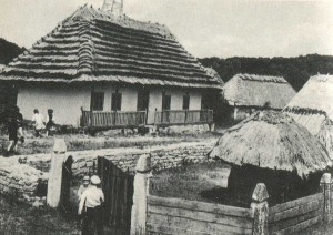 Manor of the village Goryachintsy. Khmelnytsky region. 19th century.