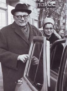 Dmitrij Schostakowitsch mit seiner Gattin