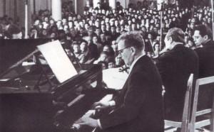 Das Quartett des Bolschoi Theaters. Solo von Dmitrij Schostakowitsch