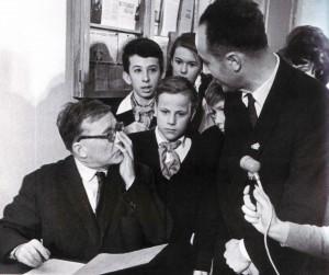 Dmitrij Schostakowitsch zu Gast in der Schule Nr. 177 von Nischni Nowgorod