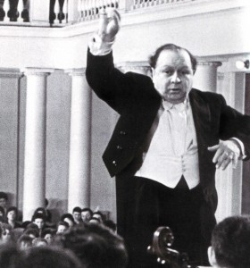 Der hervorragendc Dirigent Natan Rachlin