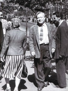 Der grosse Puppenspieler Sergej Obraszow in Nischni Nowgorod, 1962