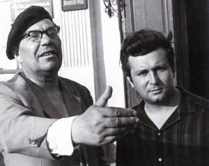 Nikolaj Rylenkow und Jurij Adrianow, die Dichter aus Nischni Nowgorod, 1968