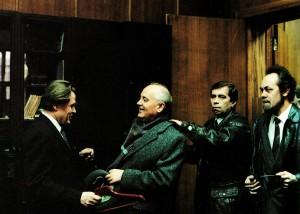 Ex-Prasident M. Gorbatschow zu Gast beim Akademiker Walentin Najdenko