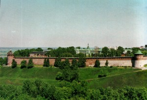 Der Kreml von Nischni Nowgorod