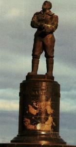 Das Tschkalow-Denkmal