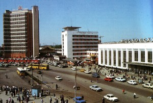 Der Moskauer Bahnhof - das Stadttor von Nischni Nowgorod